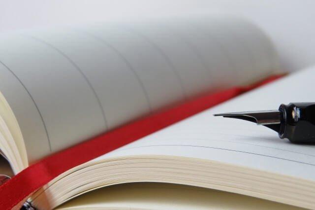 日記帳と筆記具の選定は重要!日記が続くかどうかの鍵になる