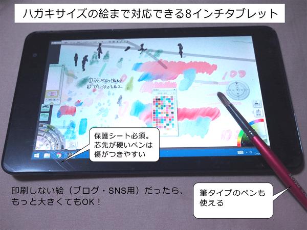 タブレットを使えば、いつでもどこでも絵を描ける環境が手に入るの記事画像